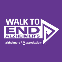 I'm back . . .Let's Walk to End Alzheimer's Oct 24th!